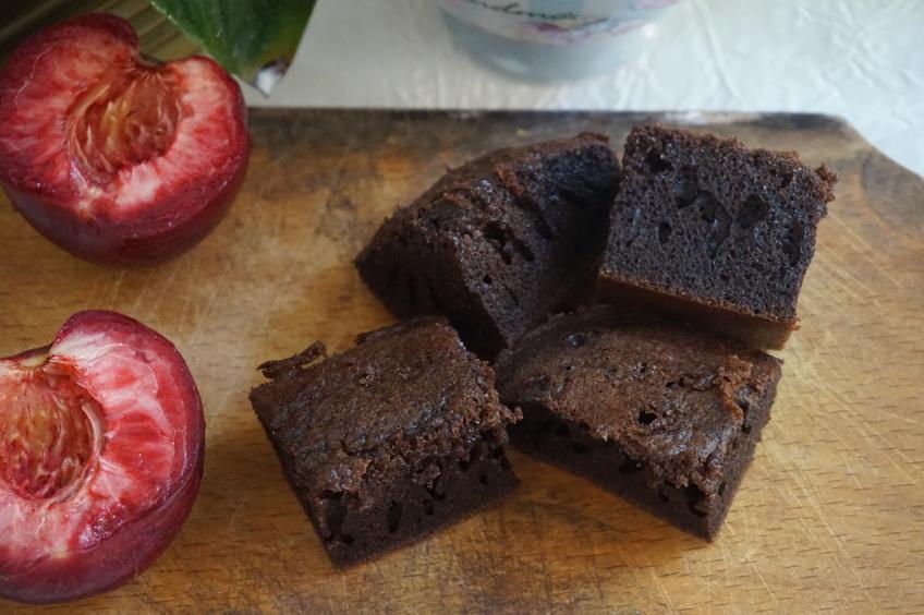 Rețetă Brownie fără zahăr, fără gluten