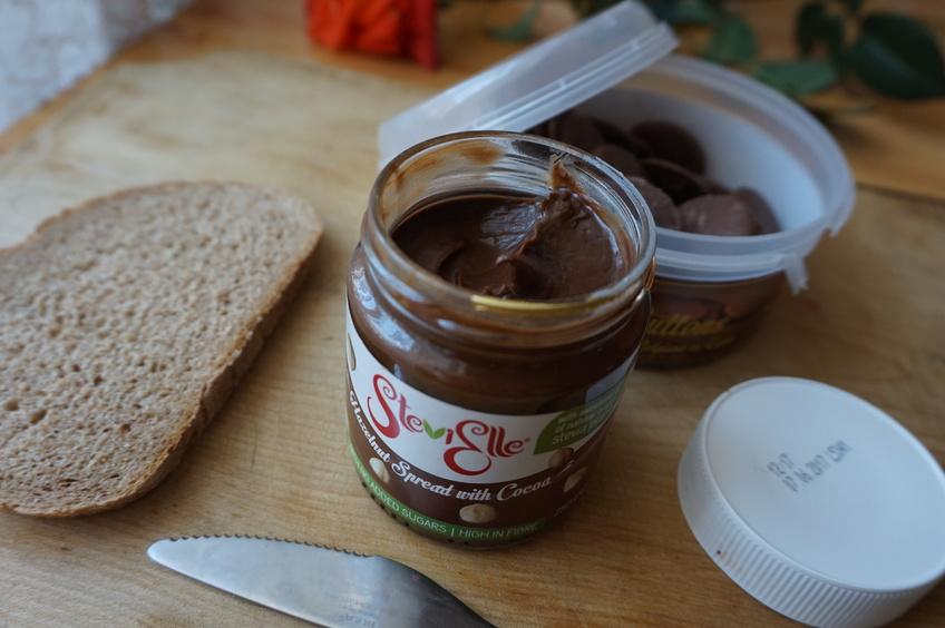 Ciocolata tartinabilă fără zahăr