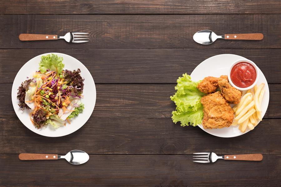Mâncare vs. mâncare de confort